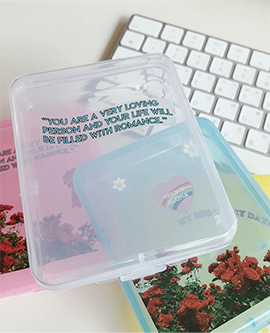 🌼ALOHA MADE🌼Clear Rectangle Box