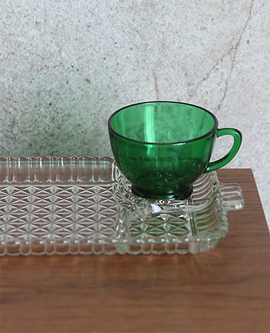 Vintage Green Snack SET