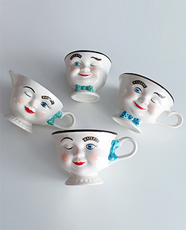Face CoffeeCup Couple